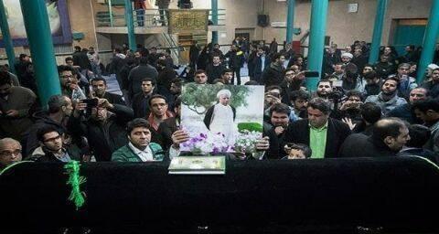 تشييع رفسنجاني: استعراض للحركة الخضراء الإيرانية