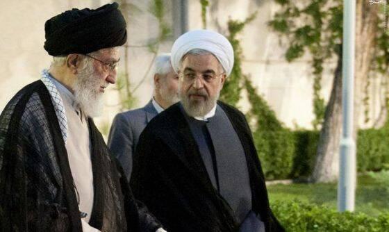 علي خامنئي حسن روحاني انتخاب مرشد