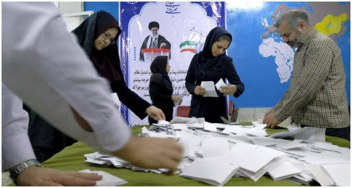 الانتخابات الرئاسية في ايران