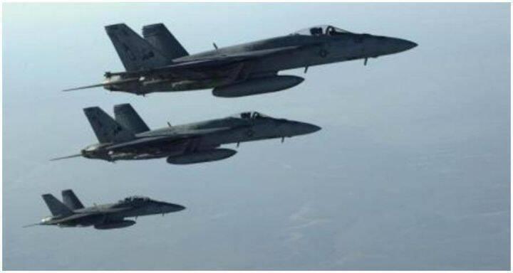 طيران حربي اميركي