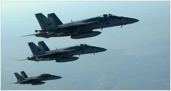 طيران التحالف الدولي