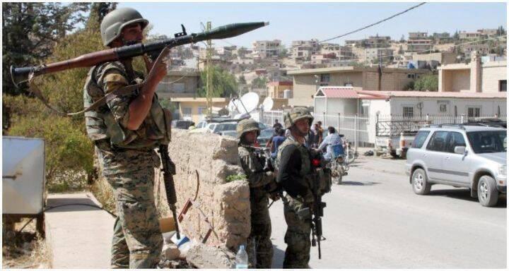 الجيش اللبناني في عرسال