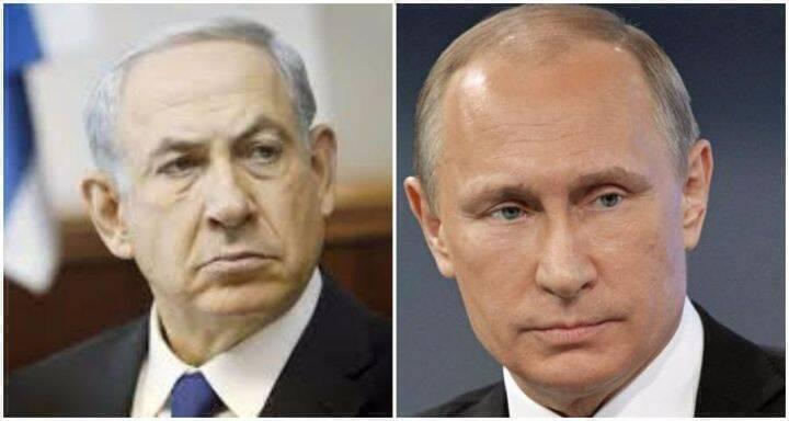 بوتين ونتياهو