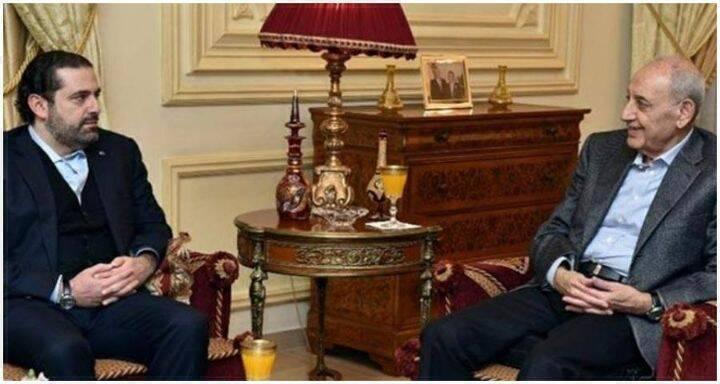 سعد الحريري ونبيه بري