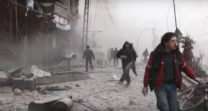 إجلاء أكثر من 3500 مدني عن الغوطة الشرقية عبر معبر حمورية