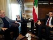 استقبل مدير مكتب الرئيس سعد الحريري السيد نادر الحريري ظهر اليوم
