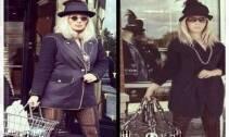 شغلت إطلالة الفنانة مايا دياب بأزياء شانيل متتبعيها على موقع