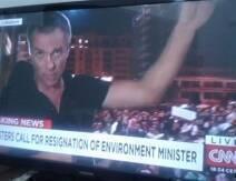 نال الحراك المدني باتجاه وزارة البيئة اليوم والهادف إلى