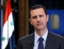 أكد الرئيس السوري بشار الأسد في مقابلة مع التلفزيون التشيكي الرسمي