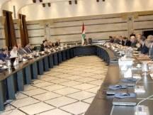 اعلن وزير الاعلام رمزي جريج أثر انتهاء جلسة مجلس الوزراء، التي