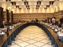 ترأس رئيس مجلس الوزراء تمام سلام جلسة مجلس الوزراء، عند العاشرة