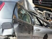 وقع حادث سير مروع على اوتوستراد صيدا- بيروت في منطقة الجية، حيث