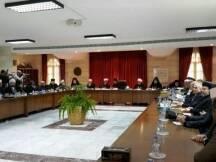 أقرت القمة الروحية الاسلامية المسيحية في بكركي، اليوم، مأسسة
