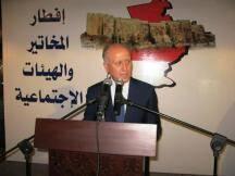 أقام وزير العدل اللواء أشرف ريفي إفطارا تكريميا في طرابلس لمخاتير