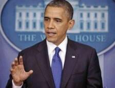 خاطب الرئيس الأميركي باراك أوباما قمة واشنطن لمكافحة التطرف، أمس،