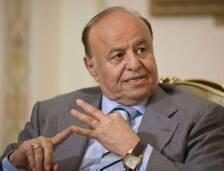 ذكر مسؤولون دبلوماسيون في الخليج ان الرئيس اليمني عبدربه منصور