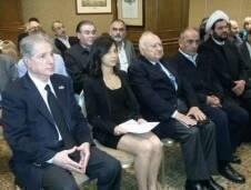 اقامت اذاعة صوت لبنان صوت الحرية والكرامة ندوة حول كتاب العلامة
