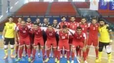 تغلب منتخب لبنان لكرة القدم للصالات على مضيفه الاردني 5-3 (الشوط