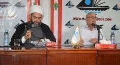 نظّم منتدى صور الثقافي لقاءً حوارياً مع رئيس جمعية الوسط