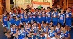 يكرم نادي «هوبس» فريقه بكرة السلة (مواليد 2004 / 2005)، وصيف بطولة