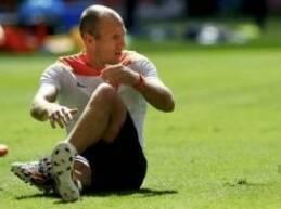 اعرب الدولي الهولندي اريين روبن عن أمله في المشاركة في مباراة