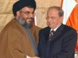 الزيارة الاخيرة التي قام بها وفد من حزب الله الى رئيس التيار