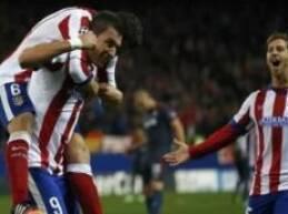 حقق نادي أتليتكو مدريد الإسباني فوزاً هاماً على حساب أولمبياكوس