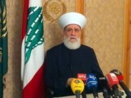 أوضح مفتي الجمهورية السابق الشيخ محمد رشيد قباني أنه هو نفسه الذي