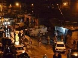 نفذ الجيش اللبناني سلسلة مداهمات ليلا في طرابلس وخصوصا في منطقة