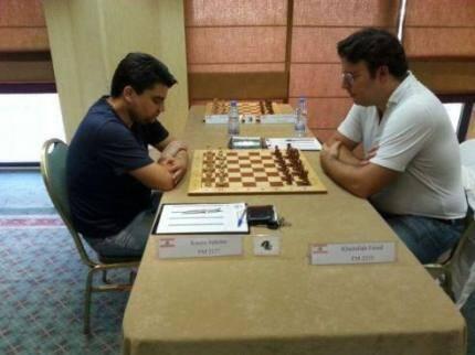 فيصل خيرالله بطل لبنان لفردي الرجال للشطرنج الكلاسيكي