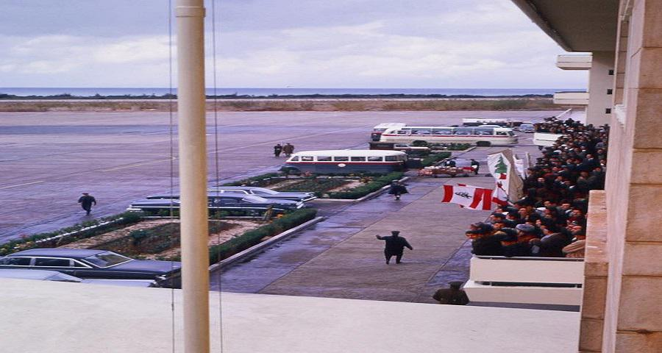 مطار بيروت ,  1962
