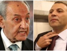 nabih berry and jebran bassil