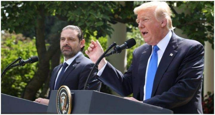 دونالد ترامب وسعد الحريري