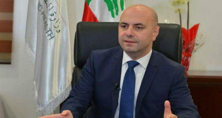 وزير الصحة غسان حاصباني